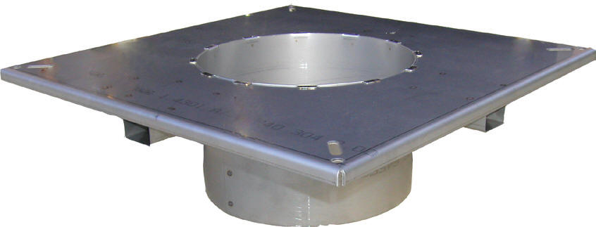ASCA Air Cooled Steel Chimney Adaptor